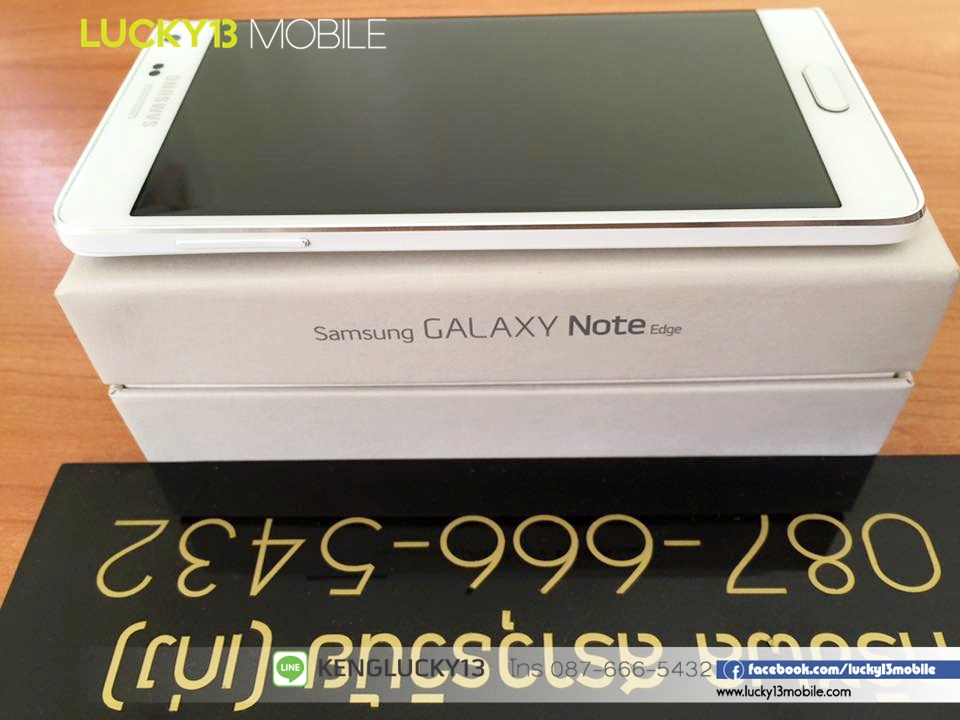 NoteEdge THL WHITE 8