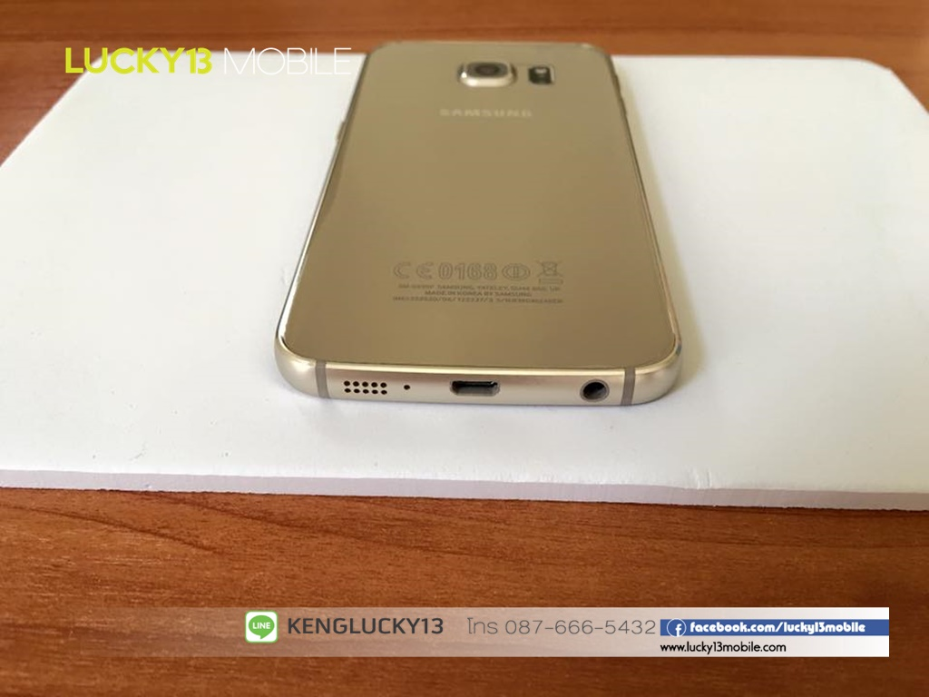 ขาย samsung galaxy s6 edge gold