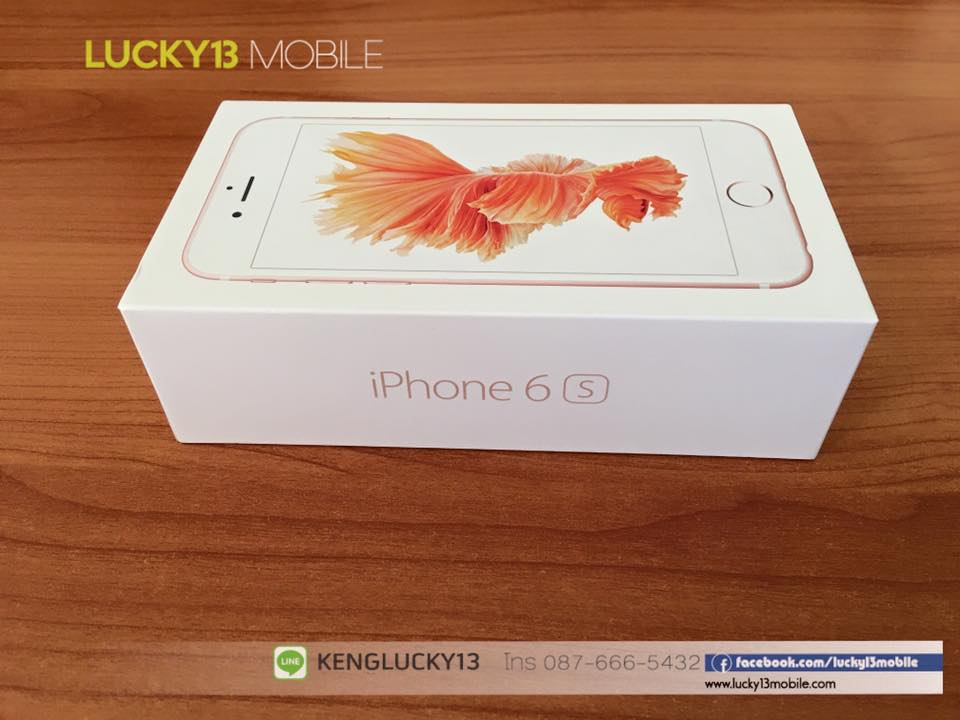 IPHONE6S 16GB ROSEGOLD TRUE Model TH 1