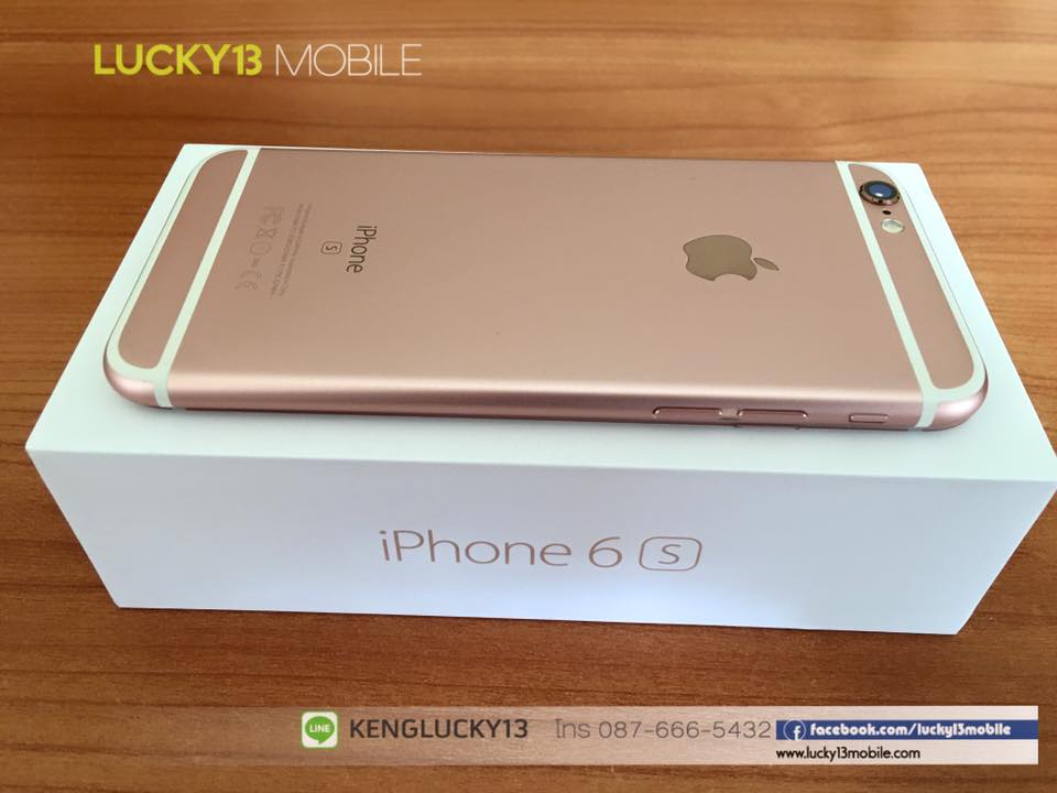 IPHONE6S 16GB ROSEGOLD TRUE Model TH 10