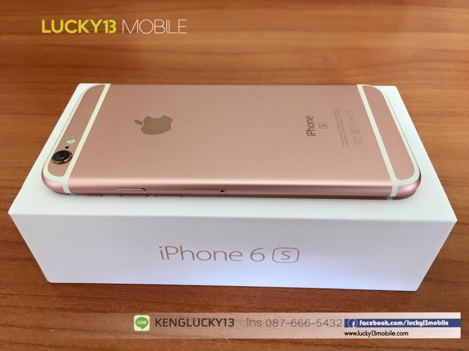IPHONE6S 16GB ROSEGOLD TRUE Model TH 12