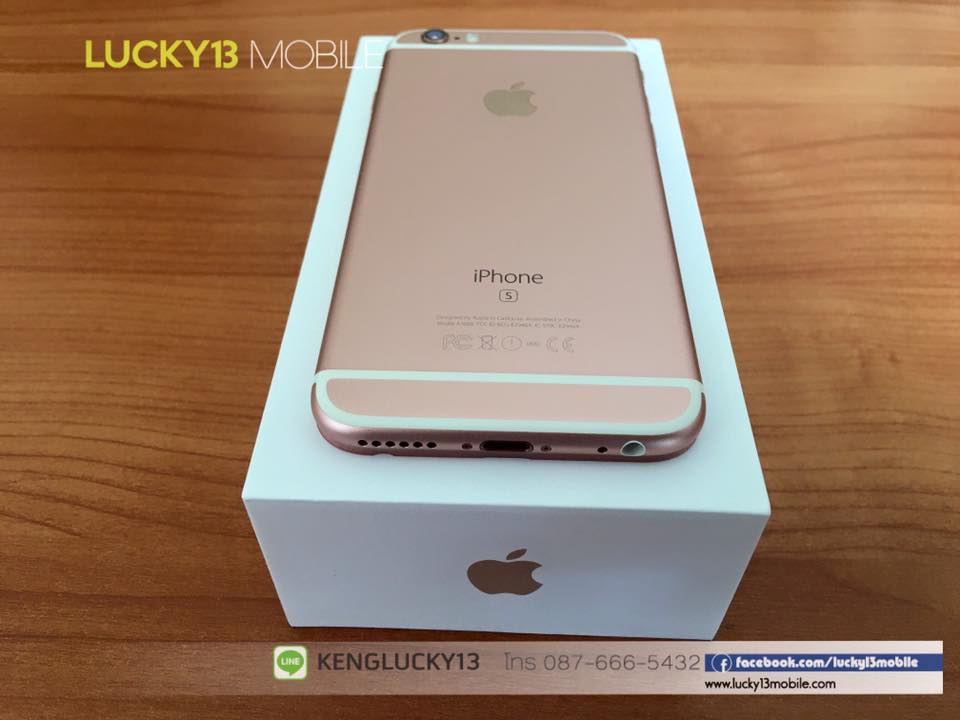 IPHONE6S 16GB ROSEGOLD TRUE Model TH 13
