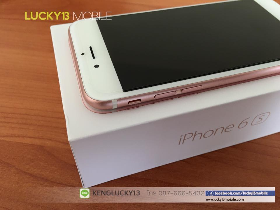IPHONE6S 16GB ROSEGOLD TRUE Model TH 14