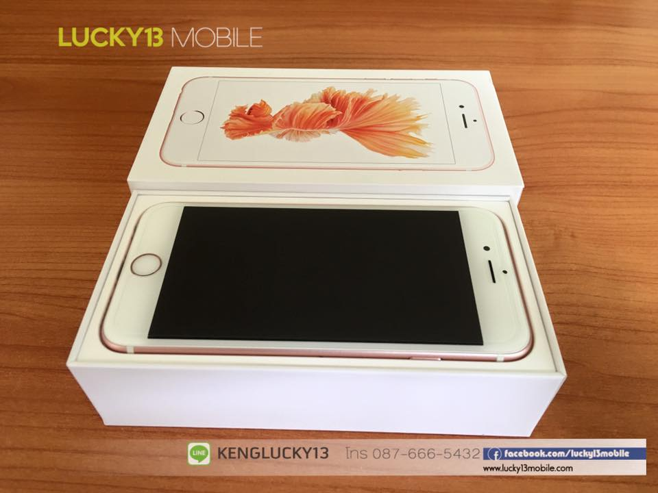 IPHONE6S 16GB ROSEGOLD TRUE Model TH 2