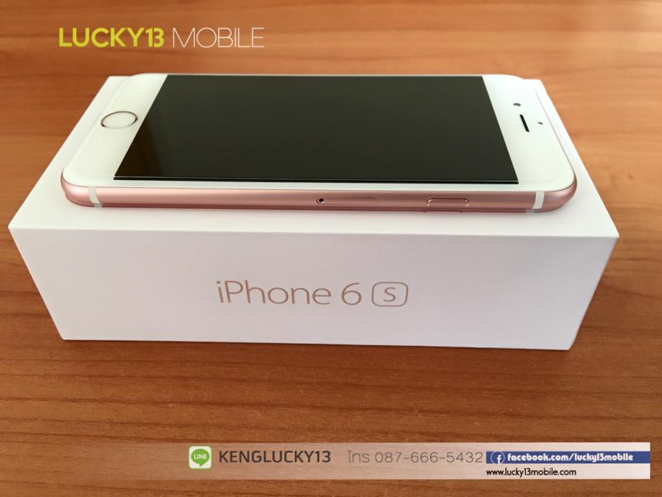 IPHONE6S 16GB ROSEGOLD TRUE Model TH 6