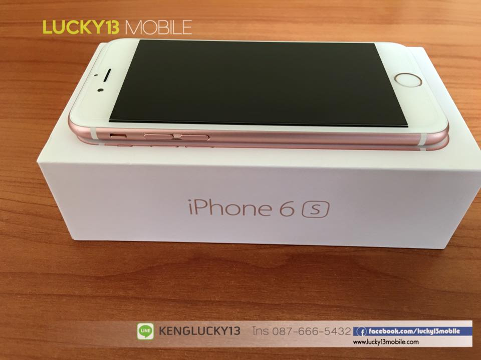IPHONE6S 16GB ROSEGOLD TRUE Model TH 8