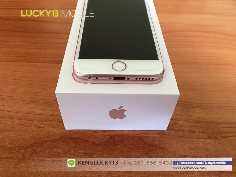IPHONE6S 16GB ROSEGOLD TRUE Model TH 9