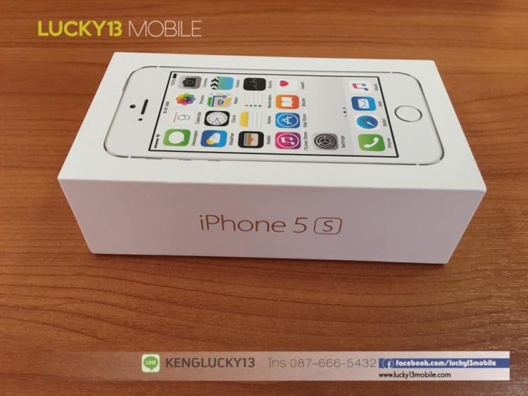 IPHONE5S 16GB สีขาวเงิน เครื่องศูนย์ไทย Model TH
