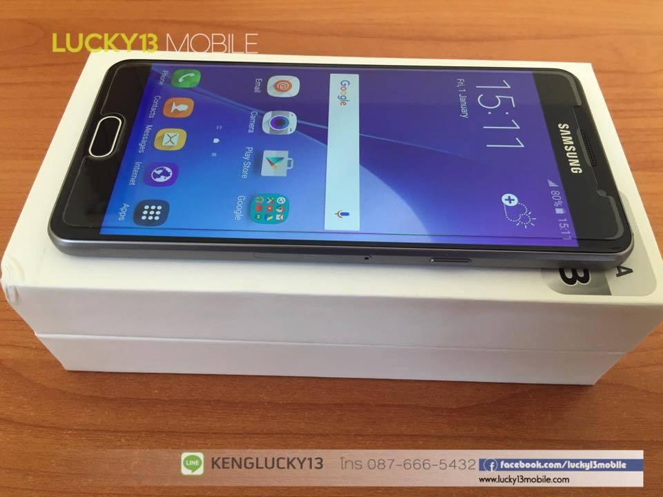 GALAXY A5 2016 สีดำสุดเท่ ศูนย์ไทย มือสอง