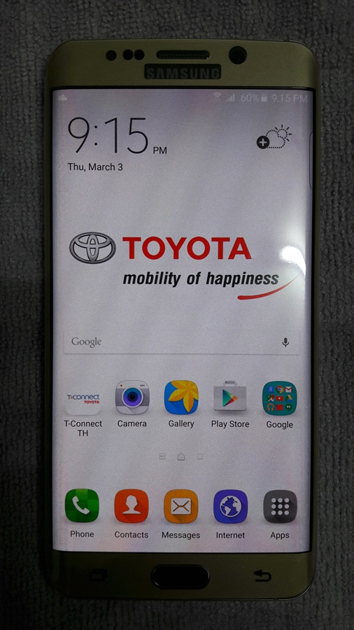 galaxy s6 EDGE PLUS TOYOTA