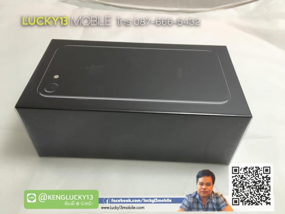 ขาย รับซื้อ IPHONE7 JET BLACK 128GB สีดำ เงา เครื่องศูนย์ไทย