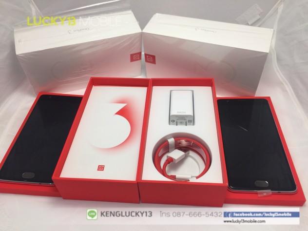 รับซื้อ ขาย OnePlus 3 เครื่องศุนย์ ไทย