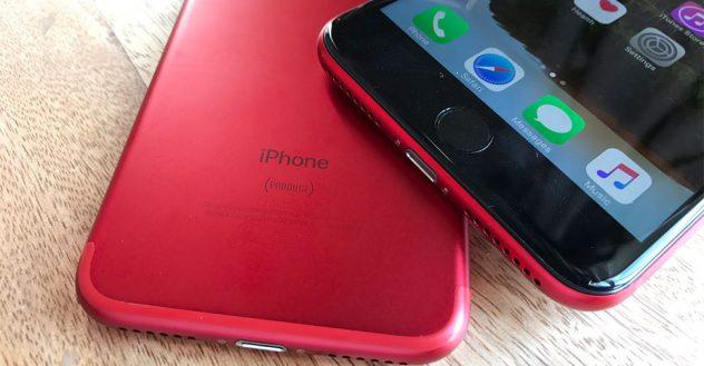 ขาย iphone 7 สีแดง
