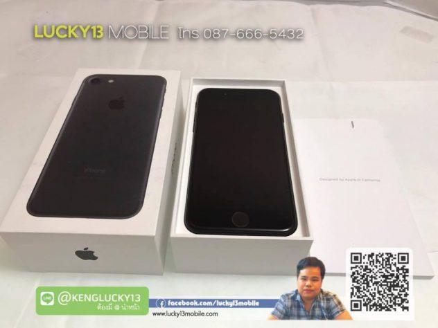 รับซื้อ IPHONE7 128GB สีดำด้าน เครื่องมือ 2