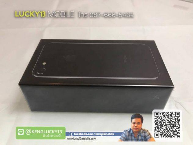 รับซื้อ IPHONE7 128GB JETBLACK เครื่องศูนย์ไทย TH มือ 1