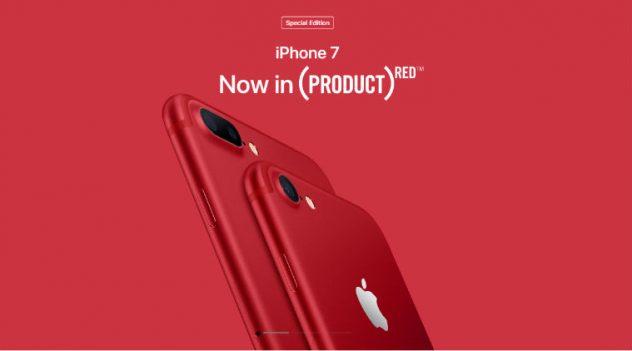 รับซื้อ iphone 7 สีแดง