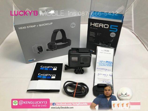 รับซื้อ GOPRO HERO5
