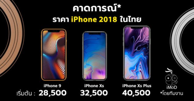 ราคา iPhone Xs