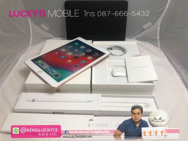 IPAD2018 32GB SIM สภาพโค่ดเทพ APPLECENCIL