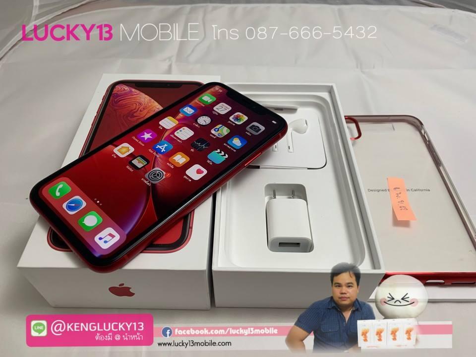 iPhone XR 64GB RED PRODUCT TH สภาพงามสุด