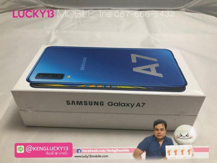 A7 2018 64GB BLUE TH มือ 1 ยังไม่แกะซีน ใหม่