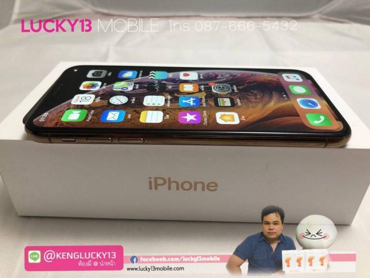 iPhone XS 64GB GOLD TH สภาพสวยมาก