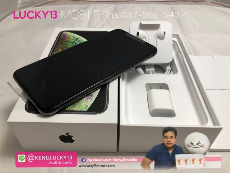 iPhone XSMAX 256GB SPACEGRAY TH มือ 1 ใหม่ แถมจาก รถ benz