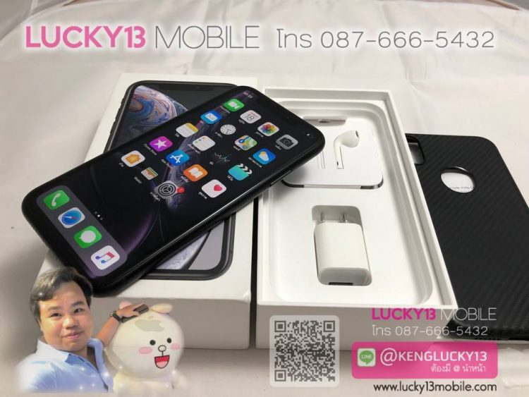 iPhone XR 128GB BLACK ศูนย์ AIS TH สภาพงามสุด