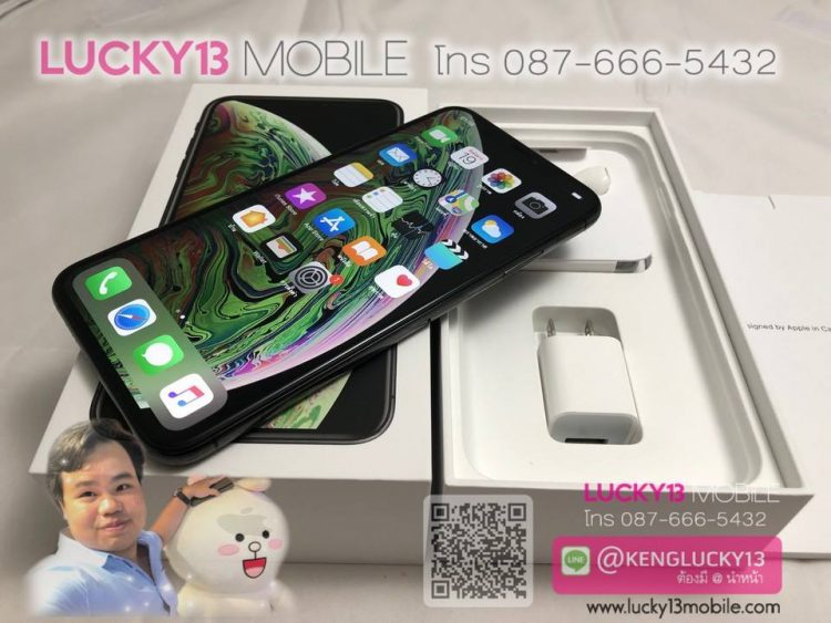 iPhone XSMAX 64GB SPACEGRAY TH สภาพงามสุด
