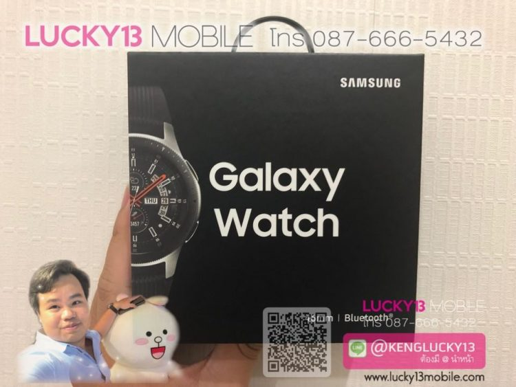 GALAXY WATCH 46MM SILVER มือ 1