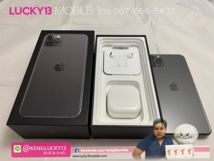 iPhone-11PROMAX-64GB-SPACEGRAY-ZA-A-2SIM-สภาพงามสุด