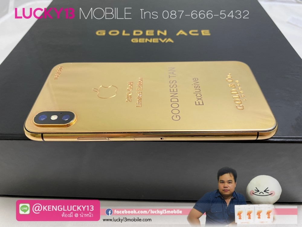 IPHONE X 24K GOLD LIMITED