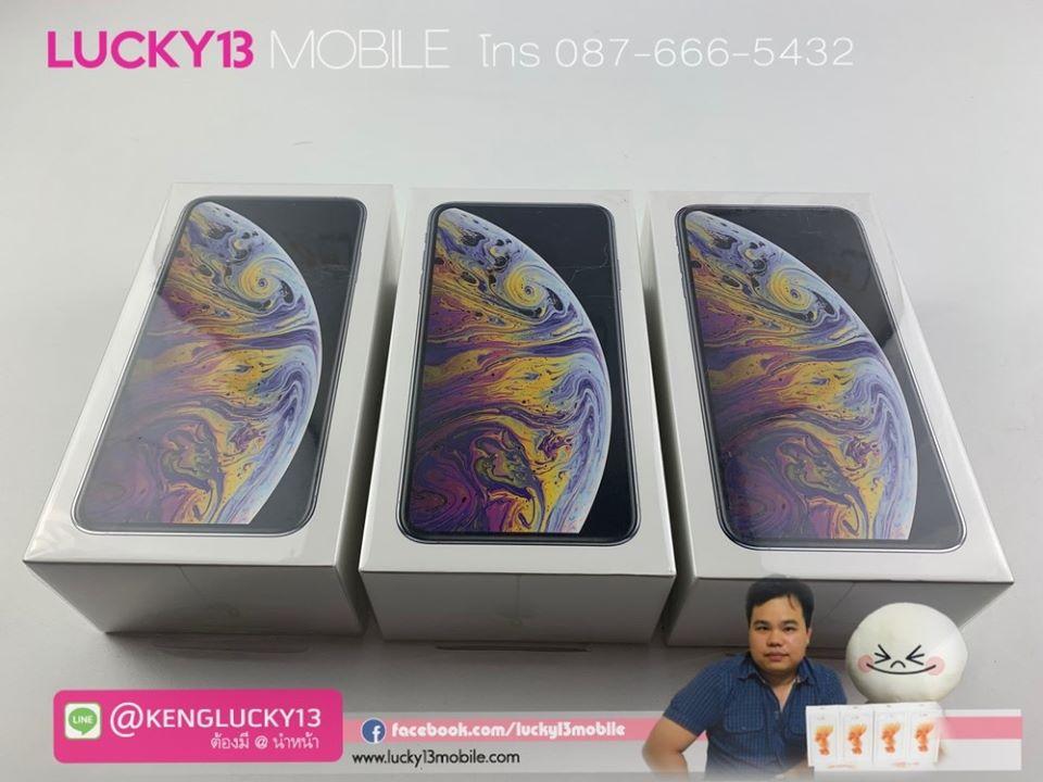 iPhone-XSMAX-64GB-SILVER-HK-2SIM-มือ-1