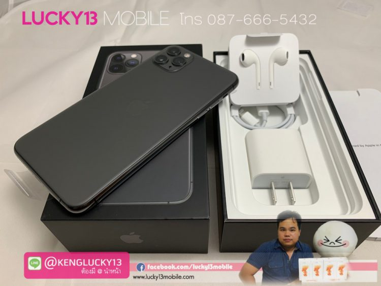 11PROMAX-512GB-SPACEGRAY-มือ-1-ประกัน-1-ปี