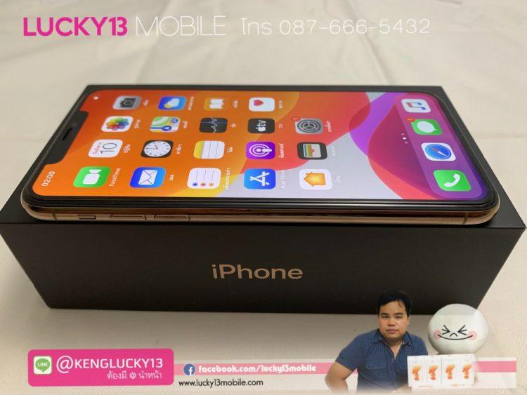 iPhone 11PROMAX 256GB GOLD ศูนย์ไทย TH มือ 2