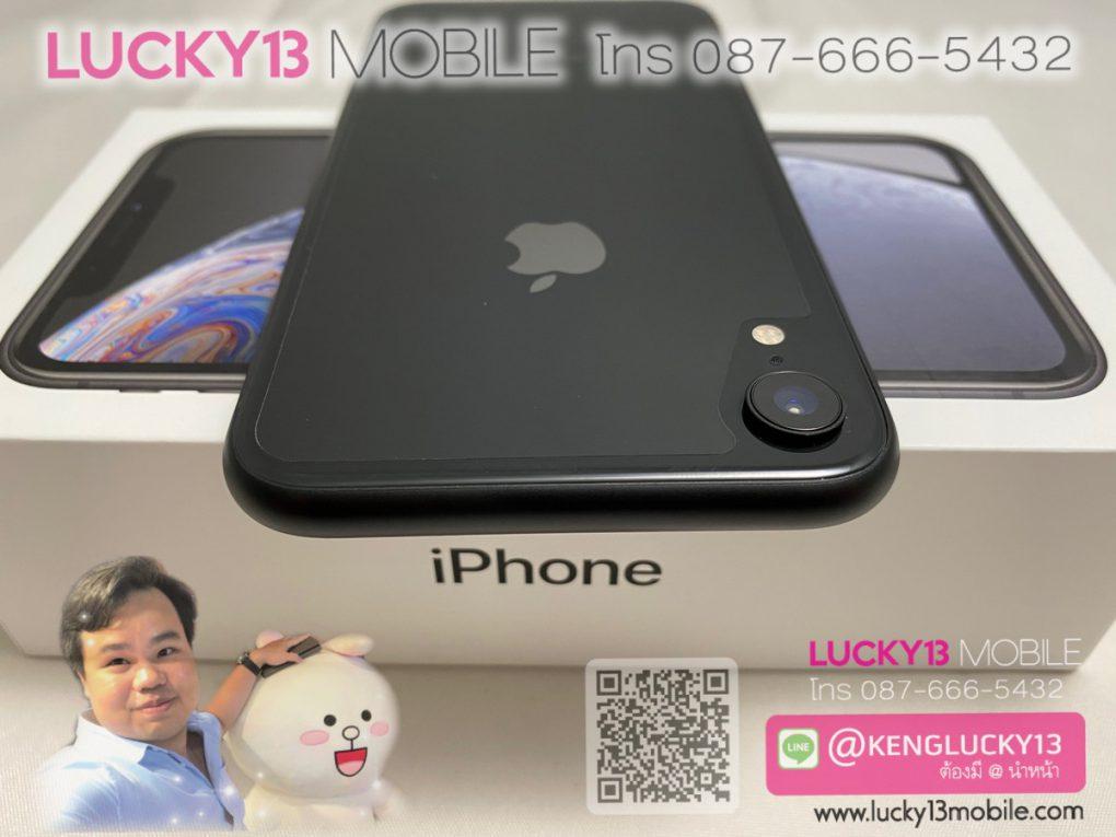 ขาย iPhone XR 64GB BLACK AIS มือสอง